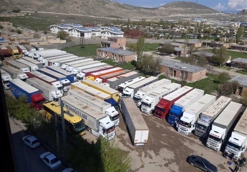 150 کامیون ایرانی 1 روزه وارد ترکیه شد