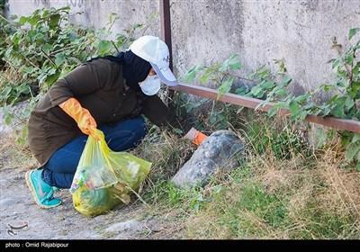 پاکسازی طبیعت به مناسبت روز جهانی محیط زیست-گیلان