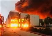 Massive Fire Erupts at Amazon Distribution Center in California (+Video)