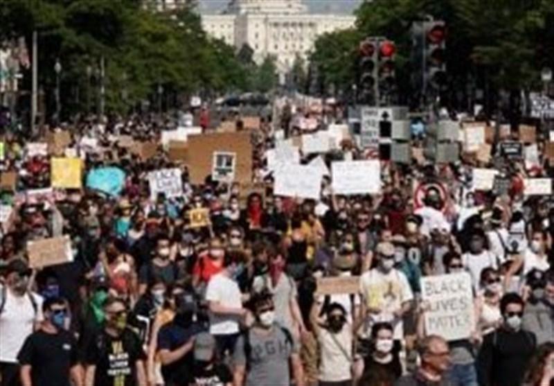 التظاهرات تعمّ العالم رفضاً للعنصریة فی أمیرکا