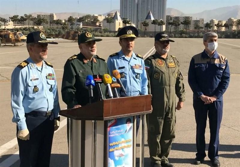 تحویلدهی 10 فروند بالگرد بازآماد شده به نیروهای مسلح