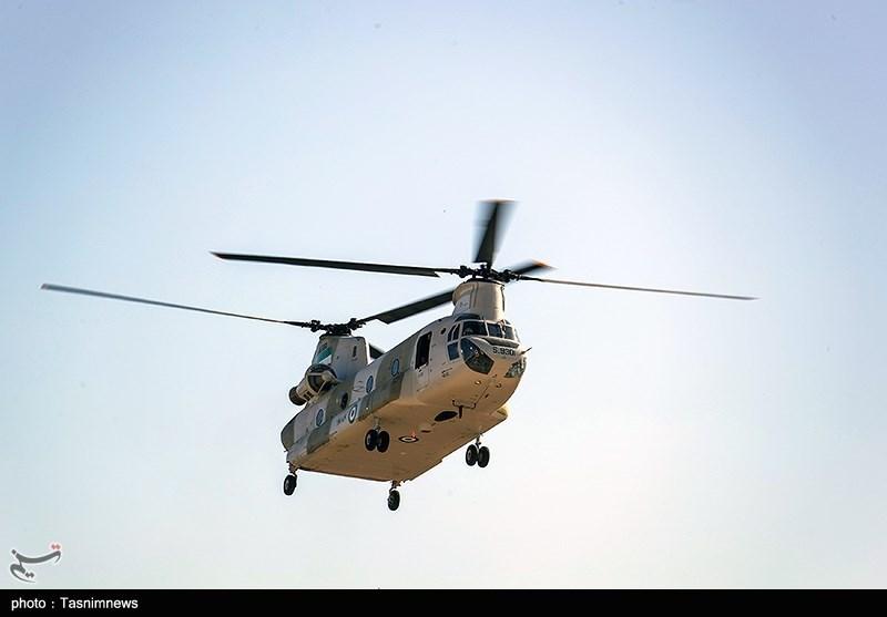تحویل 10 فروند بالگرد توسط وزارت دفاع به نیروهای مسلح