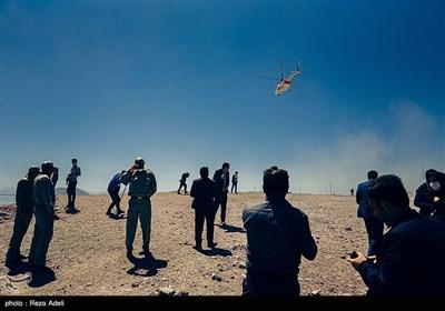 بازدید رئیس سازمان برنامه و بودجه از دریاچه ارومیه