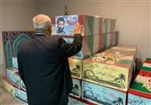تجدید میثاق رئیس بنیاد شهید تهران با شهدای گمنام و مدافع حرم+عکس