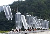 بالونهای کره شمالی به سمت همسایه جنوبی به پرواز درمیآیند