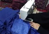 اقدامات جهادگران مؤسسه مهد قرآن از تولید ماسک تا پرداخت اقساط مشاغل متضرر از کرونا + عکس
