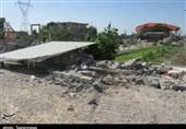 90 مورد ساختوساز غیرمجاز در اراضی کشاورزی ورامین تخریب شد