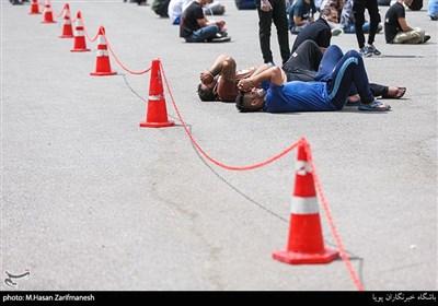 "تصاویر/ ""اقتدار"" پلیس اوباش را زمینگیر کرد"