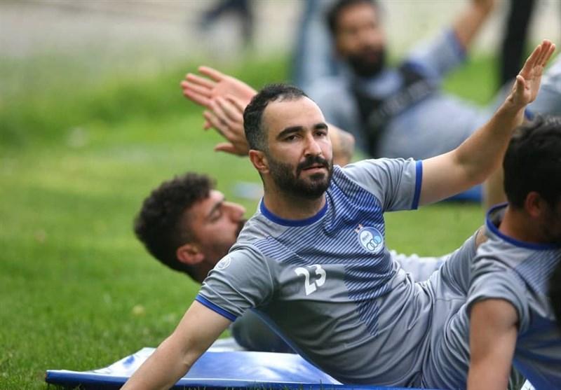 امید هافبک استقلال به حضور در لیگ قهرمانان آسیا