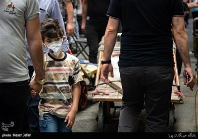 تراکم جمعیت در بازار تهران