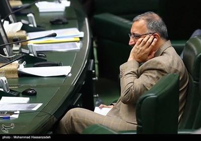 علیرضا زاکانی در جلسه علنی مجلس شورای اسلامی