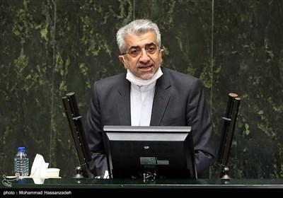 سخنرانی رضا اردکانیان وزیر نیرو در جلسه علنی مجلس شورای اسلامی