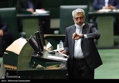 رضا اردکانیان وزیر نیرو در جلسه علنی مجلس شورای اسلامی