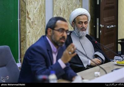 حجت الاسلام پناهیان و ایزدخواه در نشست ملی مطالبه گران مردمی