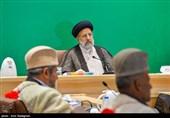 دیدار سران عشایر و نمایندگان اقشار استان فارس با آیتالله رئیسی رئیس قوه قضائیه