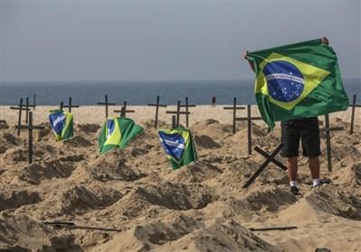 کرونا در برزیل؛ ۱۱۰۹ قربانی در یک روز