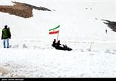 نخستین برف پاییزی آذربایجان شرقی را سفیدپوش کرد