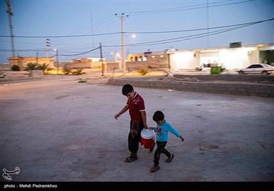 گروه جهادی دست سلیمانی در روستای مسلمیه غیزانیه