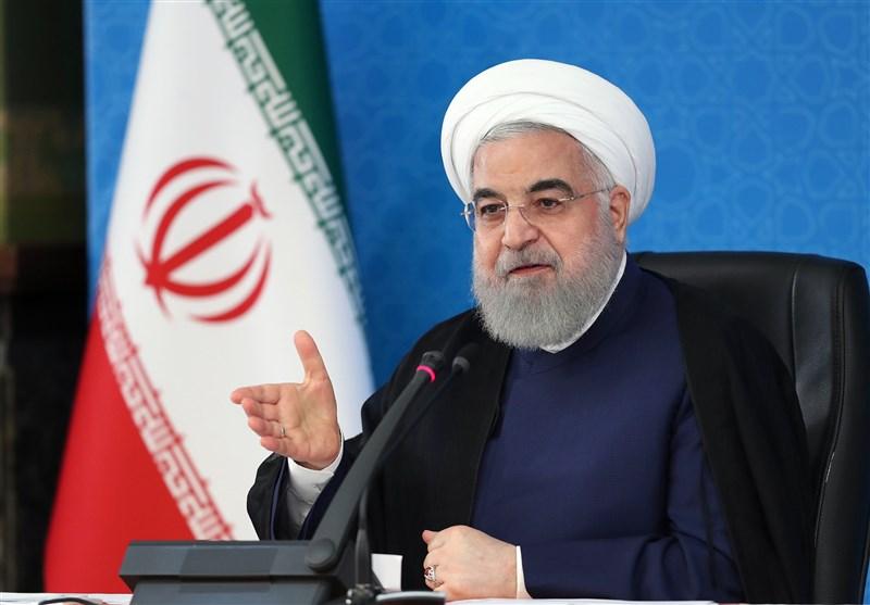 افتتاح طرحهای ملی وزارت راه و شهرسازی توسط روحانی