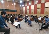 ضبط اثر کرونایی توسط ارکستر صداوسیما