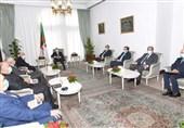 دیدار رئیس پارلمان شرق لیبی با رئیسجمهور الجزایر