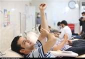 اهدای خون دراستان کرمانشاه 35درصد کاهش یافت
