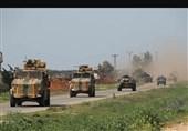 گشت مشترک نظامی ترکیه و روسیه در حسکه