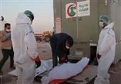 Iraq's PMU Forces Help Bury Coronavirus Victims in Najaf