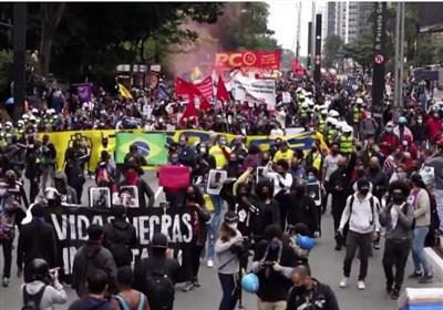 اعتراضات در برزیل و ۲۰ کشور دیگر علیه مدیریت کرونایی بولسونارو