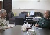 افزایش همکاری مرزبانی ناجا و نیروی زمینی سپاه برای تامین امنیت مرز