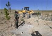 تصرف غیرقانونی 840 هکتار از اراضی ملی و دولتی آذربایجان غربی / با ورود دادگستری اراضی به دولت بازگشت