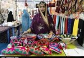 صنایع دستی بانوان قشم قابلیت عرضه جهانی دارد