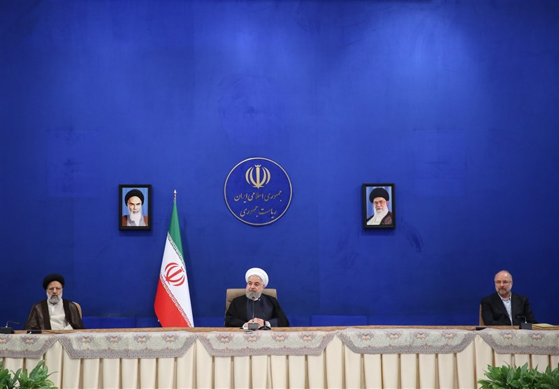 President: Iran Moving Forward on Path of Progress despite Coronavirus