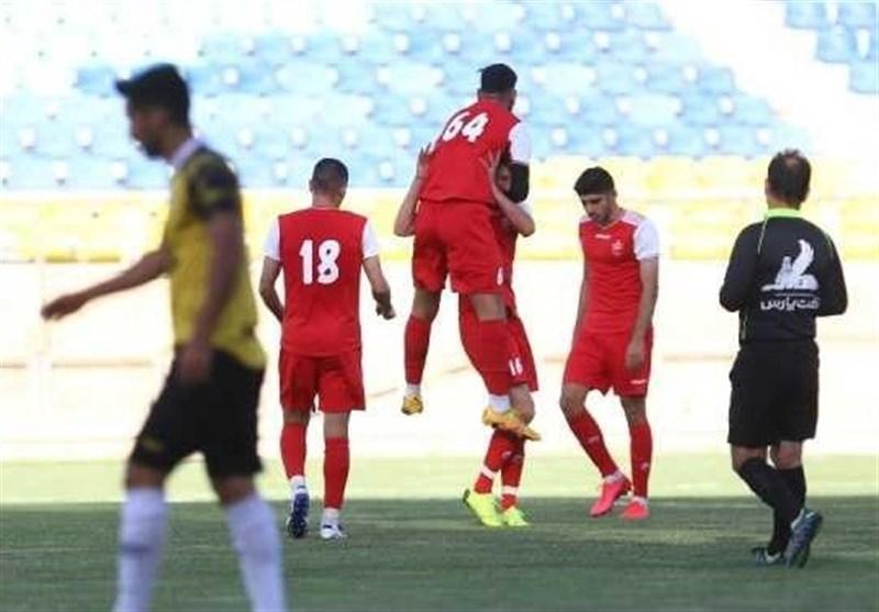 Persepolis Beats Khooshe Talaei in Friendly