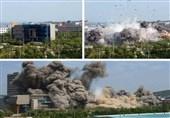 فیلم|لحظه انفجار دفتر رابط دو کره