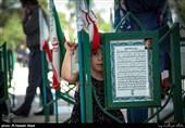 کردستان| پیکر سومین شهید مدافع سلامت در مریوان تشییع شد