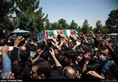 """پیکر مطهر """"شهید کمالی"""" در ساری تشییع شد"""
