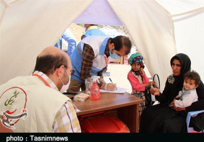 7 تیم پزشکی به منطقه عشایری «سرکشتی» دلفان اعزام شد+ تصاویر