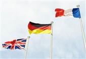 الترویکا الأوروبیة تعلن موقفها بشأن إعفاء إیران من الحظر الأممی