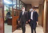 بازدید رئیس کمیته ملی المپیک از فدراسیون المپیکی/ صالحی امیری: بوکس باید از فضای گلخانهای خارج شود