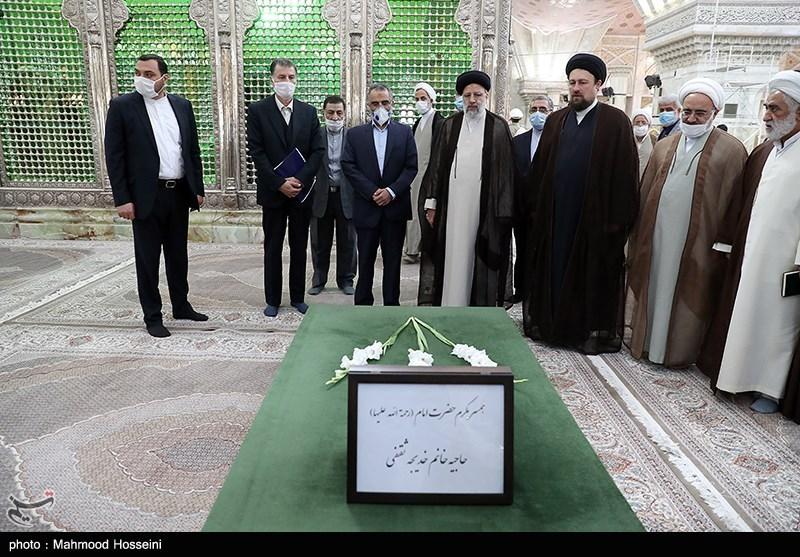 مراسم تجدید میثاق رئیس و کارکنان قوه قضائیه با آرمان های امام خمینی(ره)