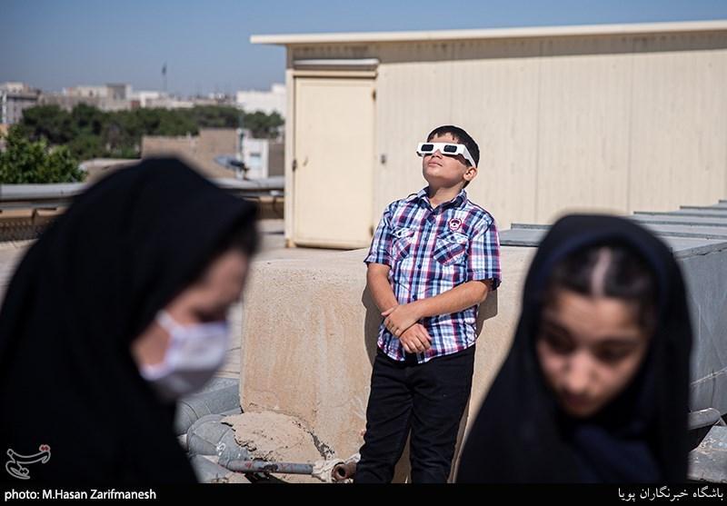 آخرین خورشیدگرفتگی قرن 14 در تهران