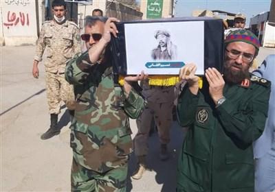 ورود پیکر مطهر ۱۹۲ شهید دفاع مقدس به کشور/بازگشت پیکر شهید نسیم افغانی