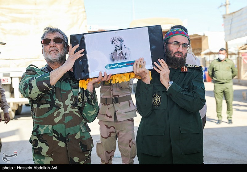 جزئیات وداع و تدفین پیکر مطهر شهید نسیم افغانی