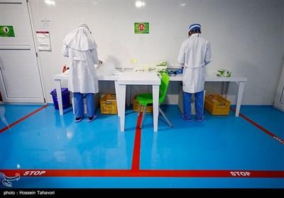 بهره برداری از دستگاه تشخیص ویروس کرونا وخط تولید ماسک در کیش