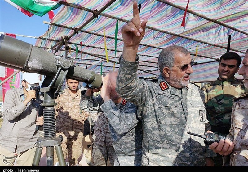 هشدار صریح فرمانده نیروی زمینی سپاه به گروهکهای تروریستی / مقرهایتان در تیررسمان قرار دارد + فیلم