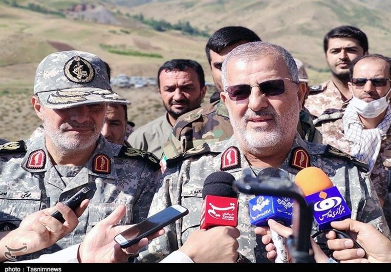 رزمایش سپاه در شمالغرب به پایان رسید/ سردار پاکپور: مناطق آلوده به حضور تروریستها پاکسازی شد