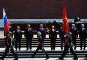 رژه نظامی در مسکو با حضور رهبران کشورهای متحد روسیه + تصاویر