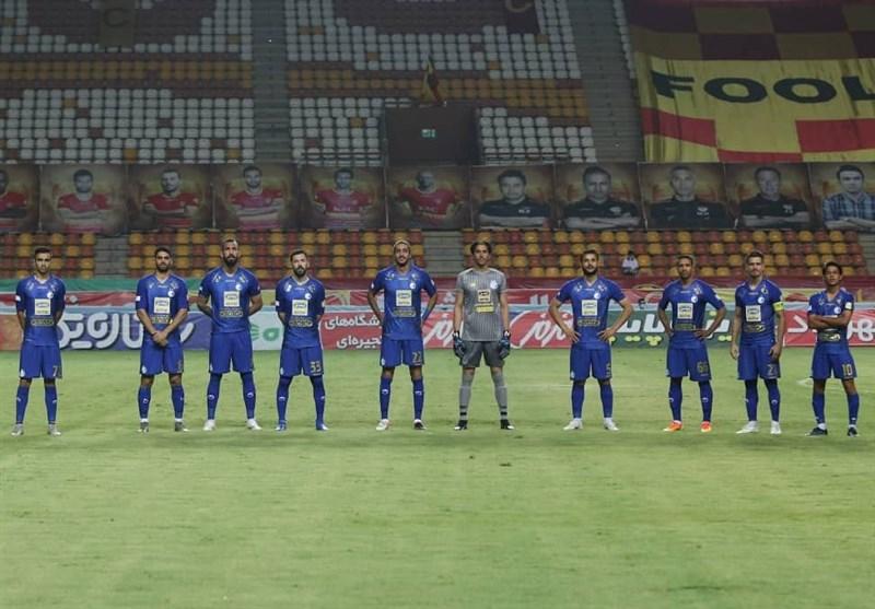 استقلال بدون بازیکنان کرونایی در جم