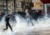 زخمی شدن 38 فلسطینی در درگیری با نظامیان صهیونیست